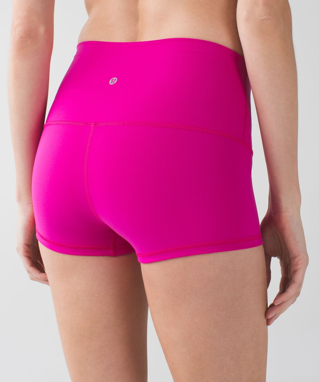 Lululemon Boogie Short (Roll Down) *Full-On Luon - Jewelled Magenta