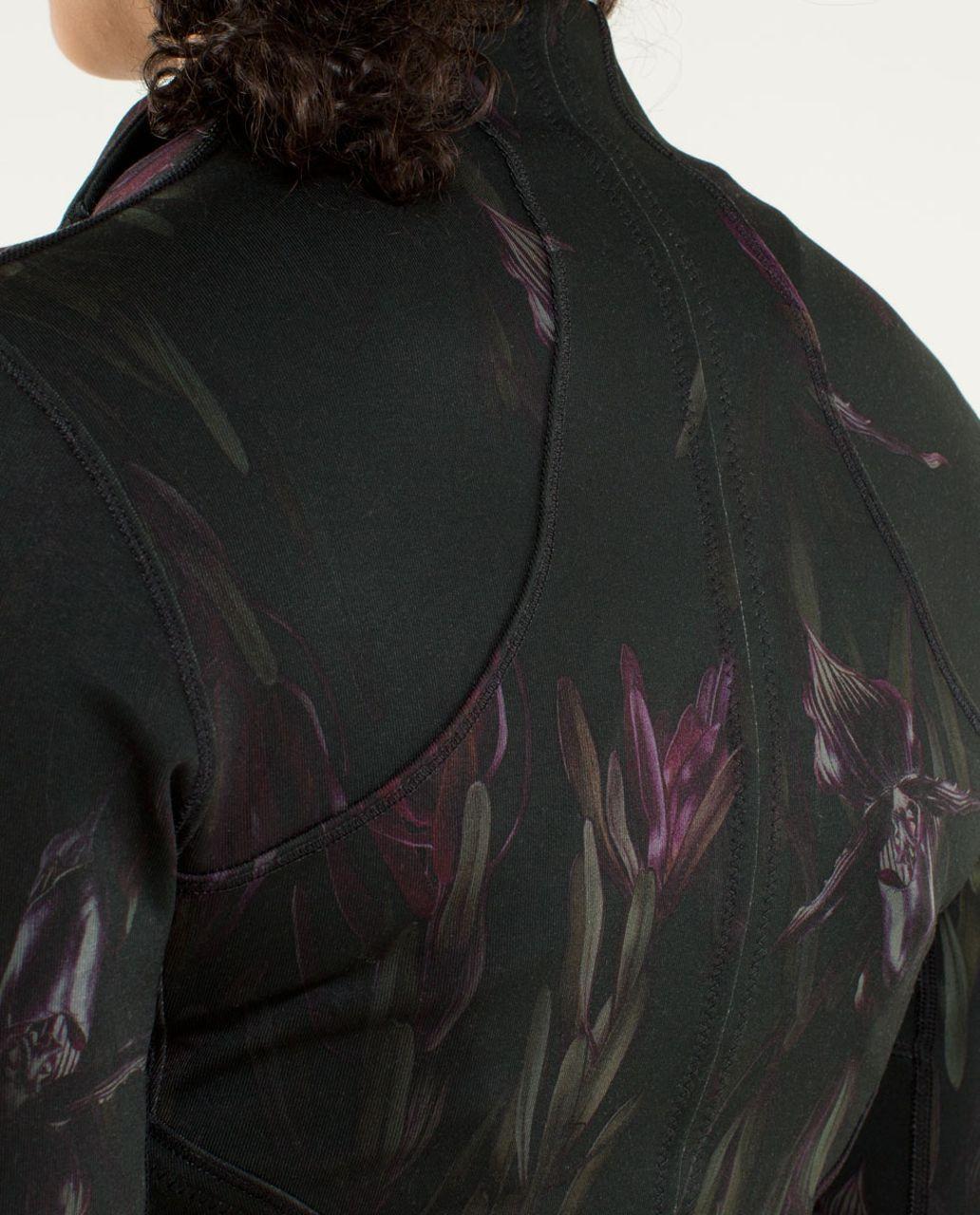 Lululemon Forme Jacket *Cuffins - Midnight Iris Multi