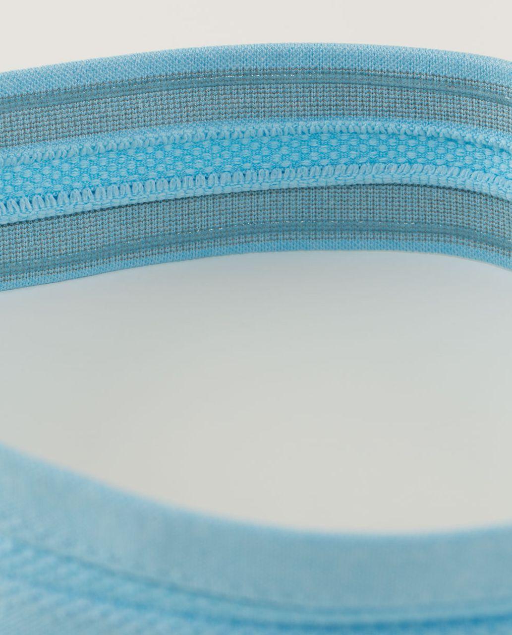 Lululemon Swiftly Headband - Heathered Blue Moon