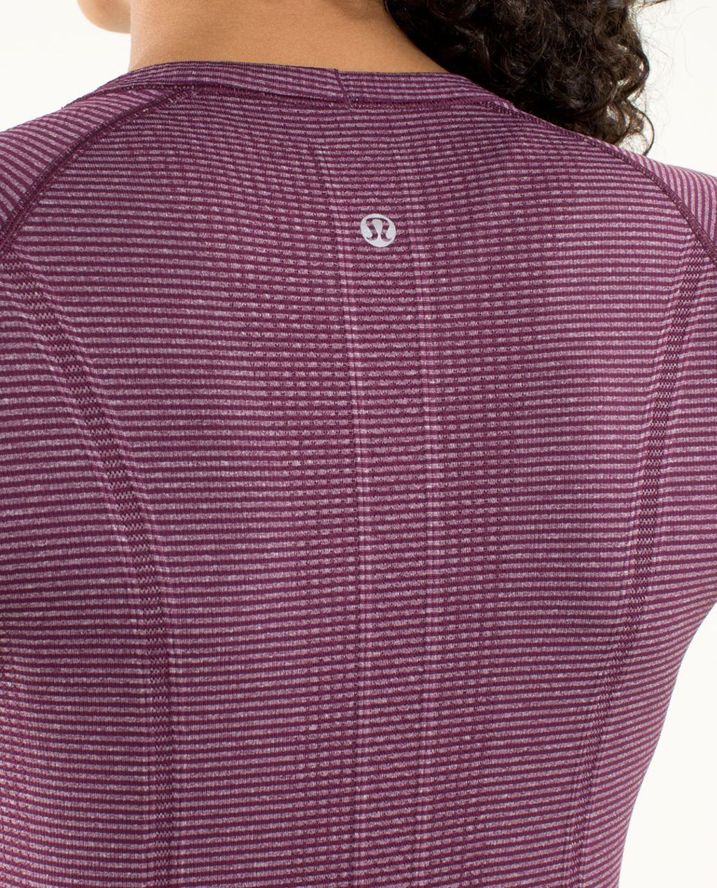 Lululemon Run:  Swiftly Tech Long Sleeve - Heathered Plum