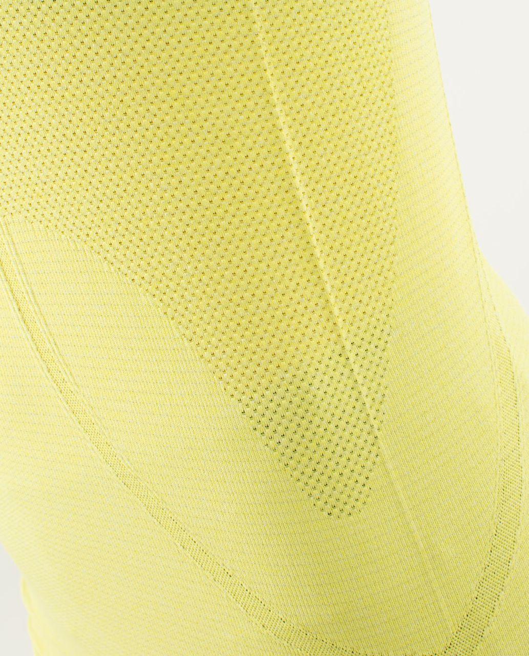 Lululemon Run:  Swiftly Tech Long Sleeve - Heathered Split Pea