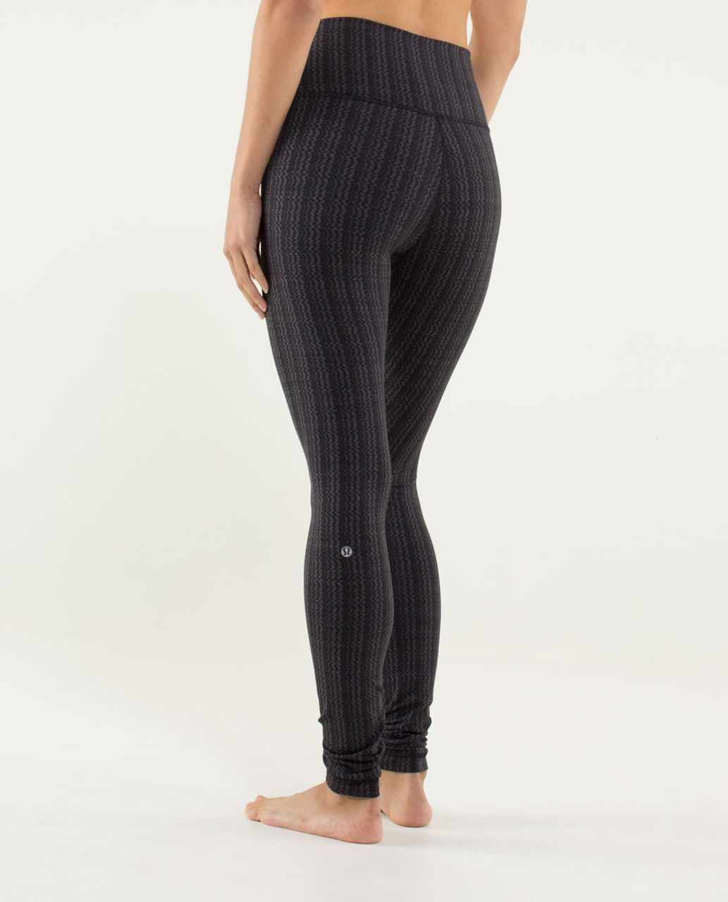 e1b079259f Lululemon Wunder Under Pant *High/Low - Ziggy Wee September Black / Black -  lulu fanatics