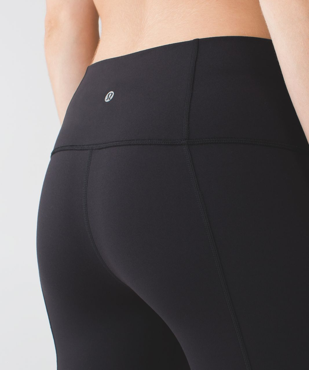 Lululemon Groove Short II (Roll Down - Tall) *Full-On Luon - Black