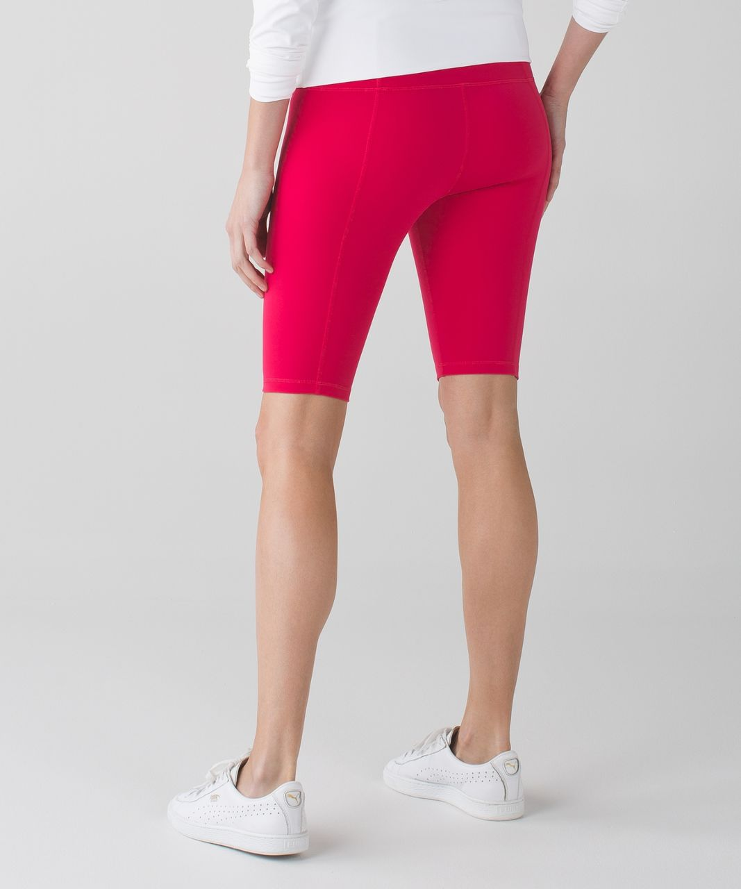 Lululemon Groove Short II (Roll Down - Tall) *Full-On Luon - Boom Juice