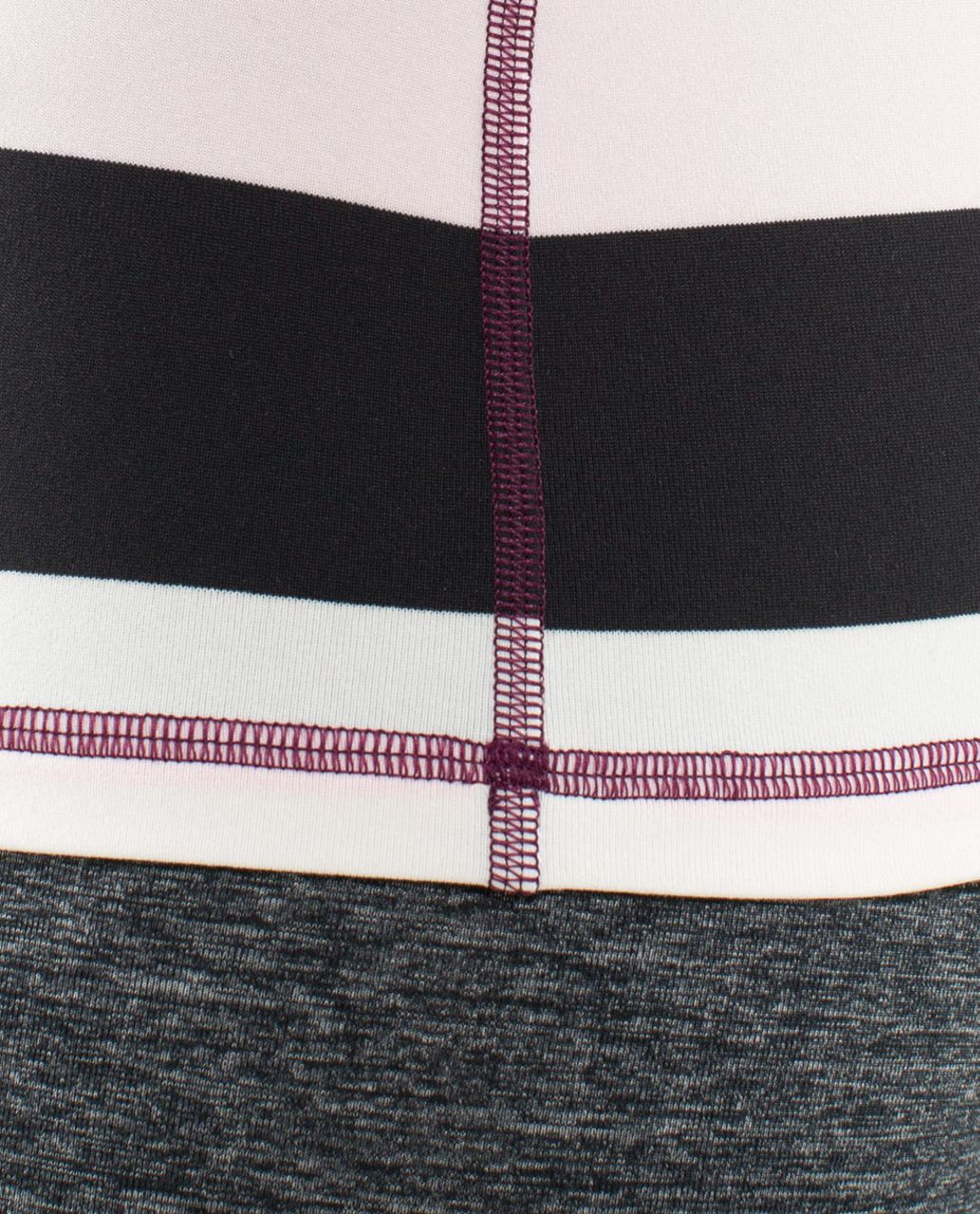 Lululemon Power Y Tank *Luon Light - Pow Stripe Raspberry Glo Light / Plum