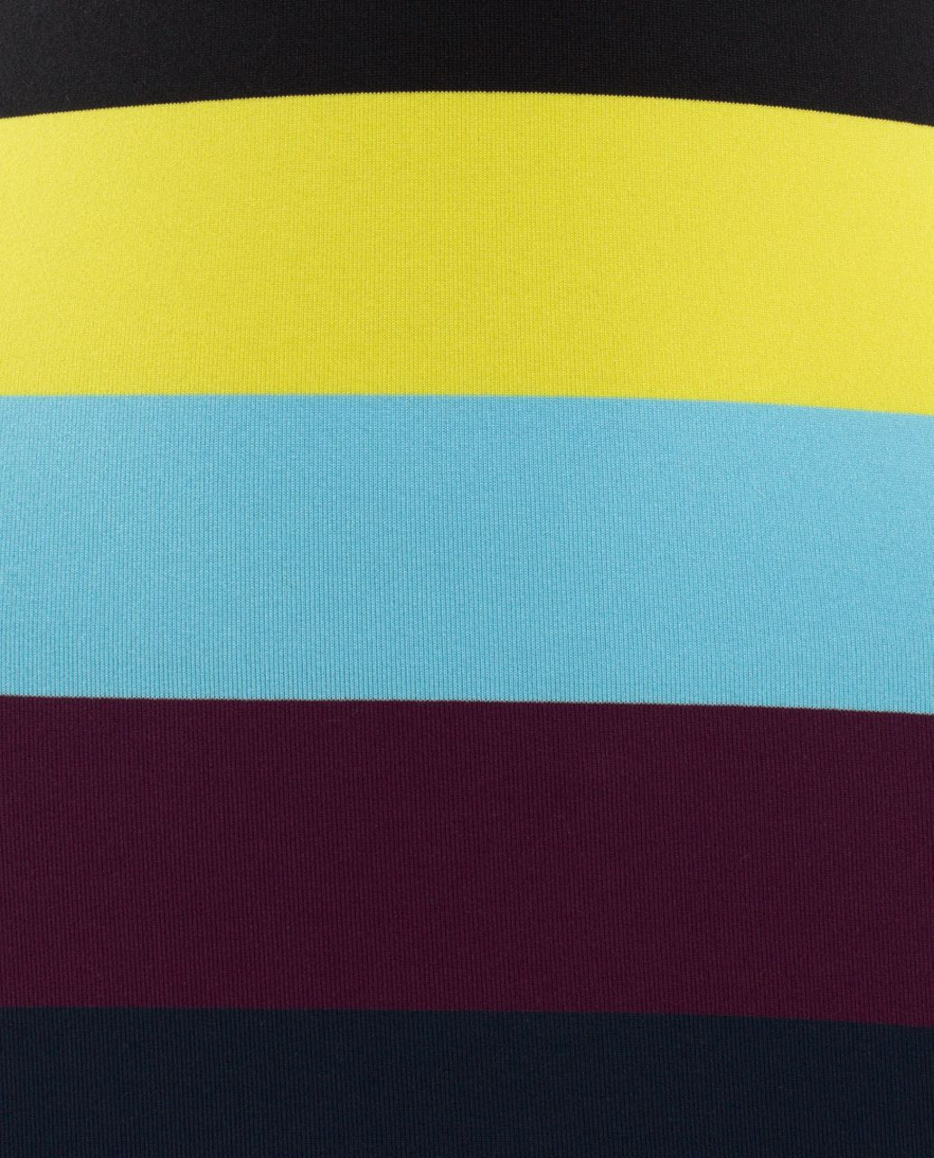 Lululemon Cool Racerback - Pow Stripe Split Pea / Plum / Inkwell