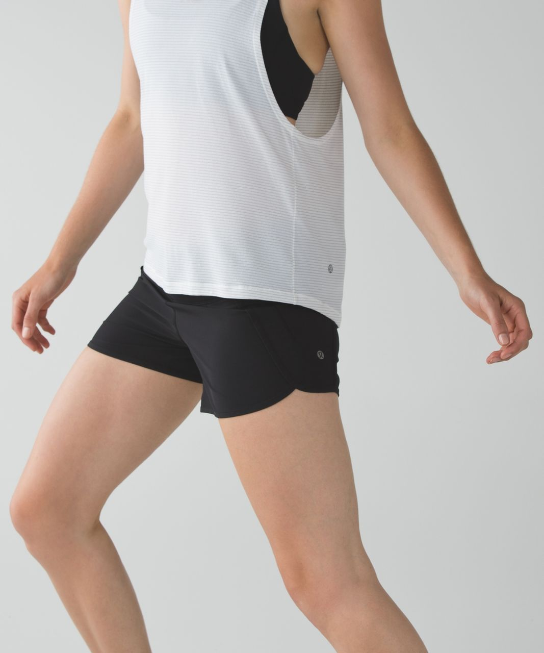 Lululemon Run Times Short *Block-It Pocket - Black