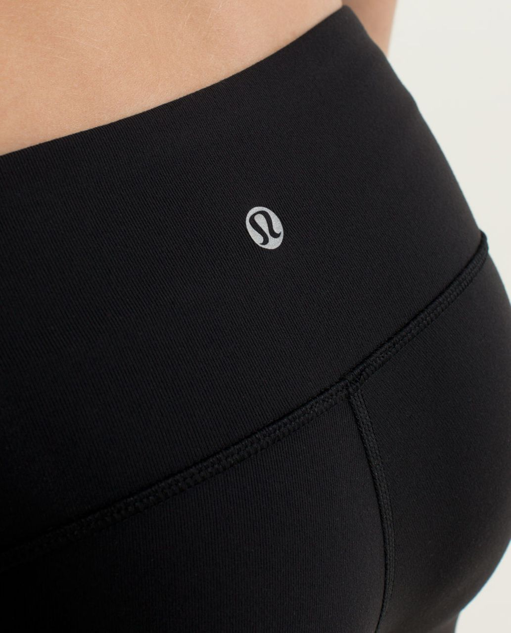 Lululemon Wunder Under Pant *Ruffled Up - Black / Hyper Stripe Angel Wing