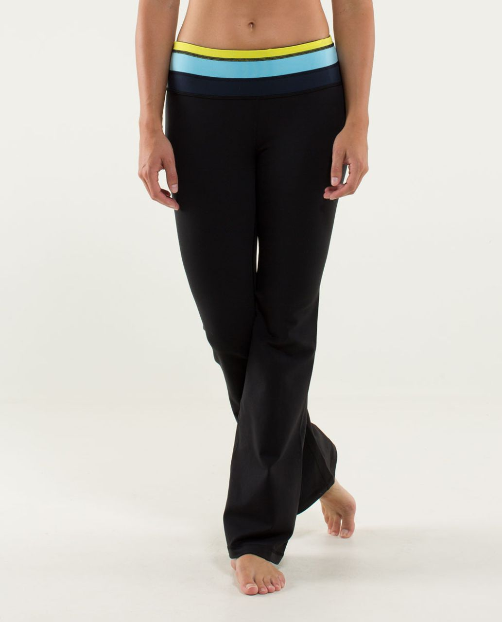 Lululemon Groove Pant (Regular) - Black / Quilt 04 Fall 2013