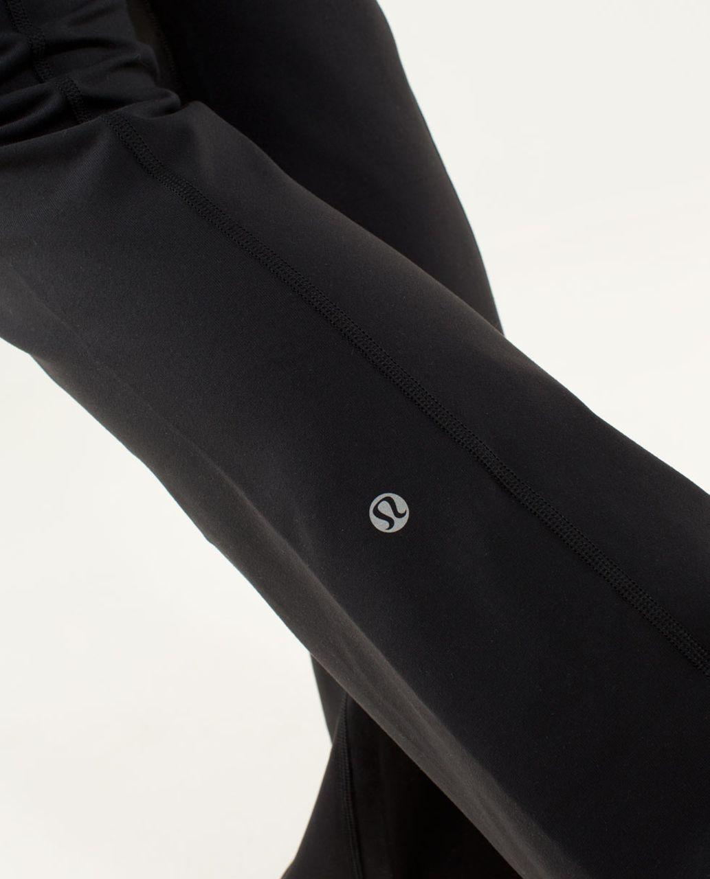 Lululemon Groove Pant (Regular) - Black / Quilt 03 Fall 2013