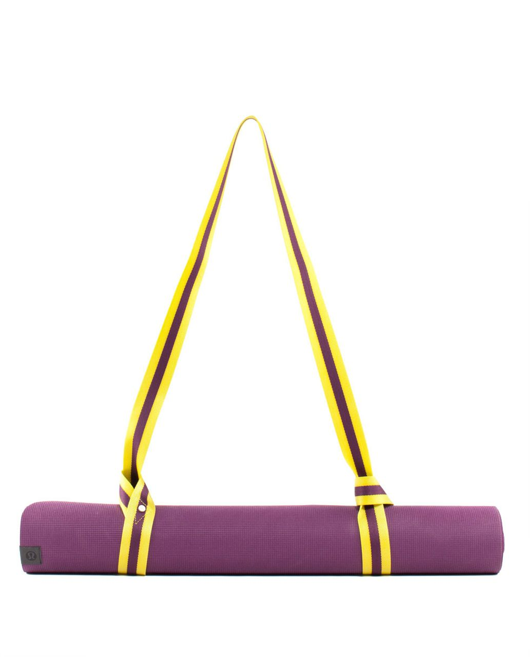 Lululemon Loop It Up Mat Strap - Split Pea / Plum