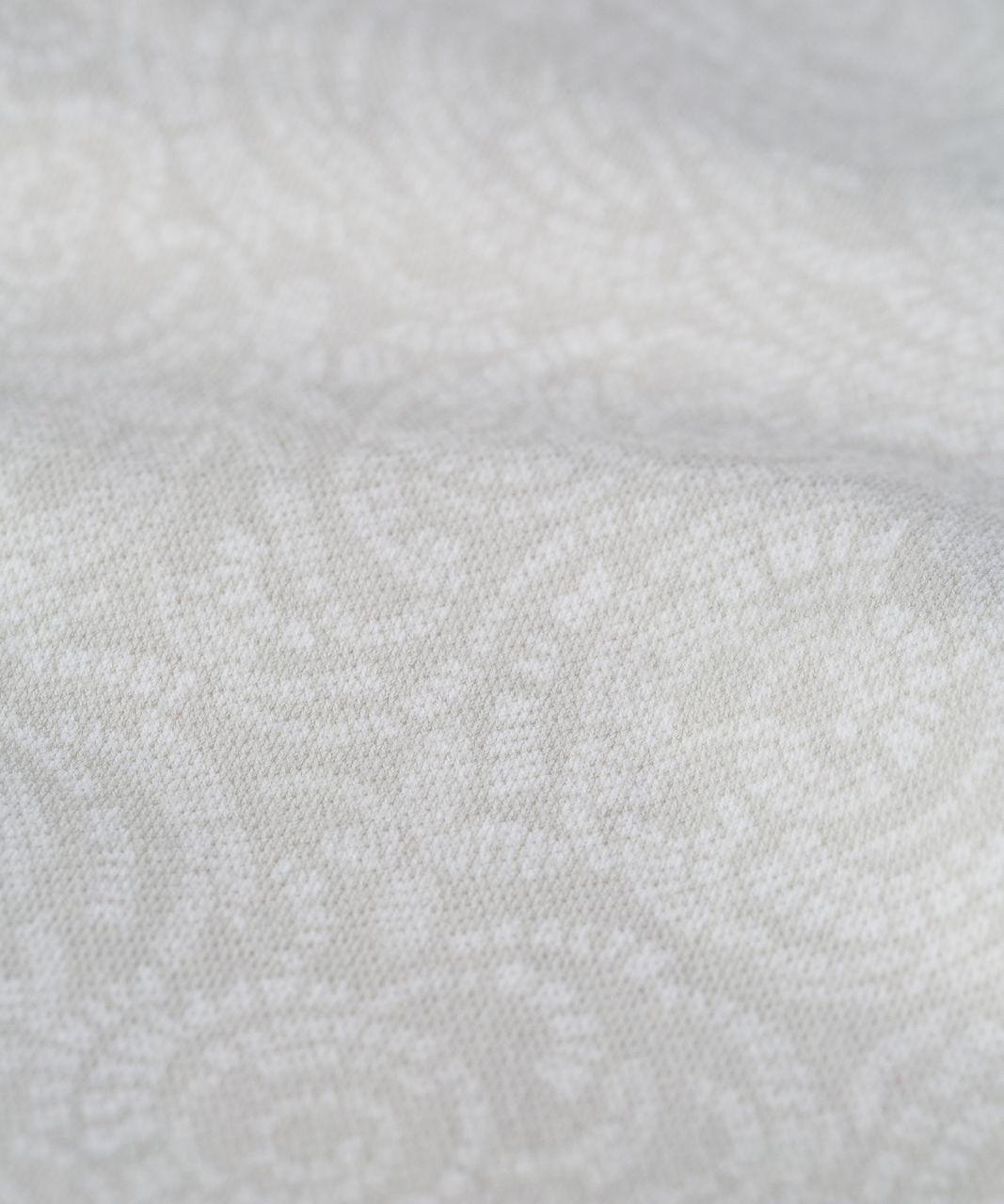 Lululemon Wunder Under Crop (Hi-Rise) - Foli Manifesto White Nimbus