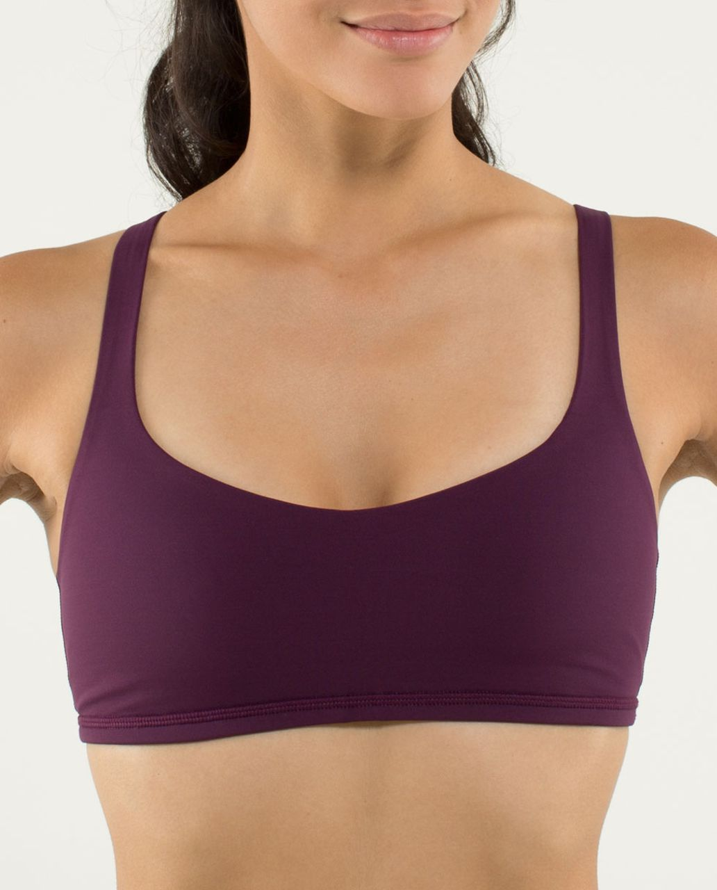 Lululemon Free To Be Bra - Plum