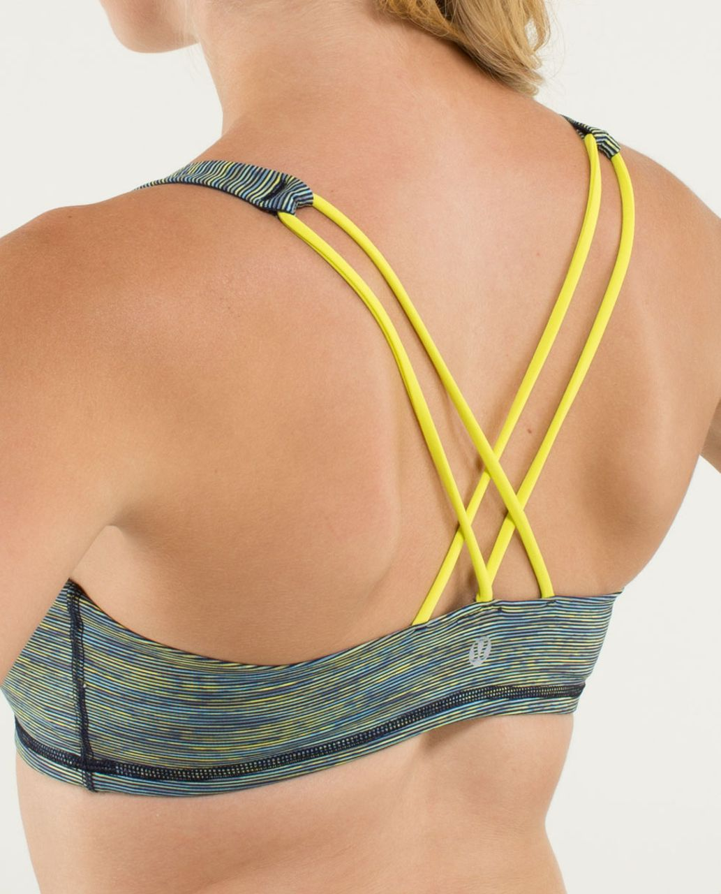 Lululemon Free To Be Bra - Wee Are From Space August Inkwell / Split Pea