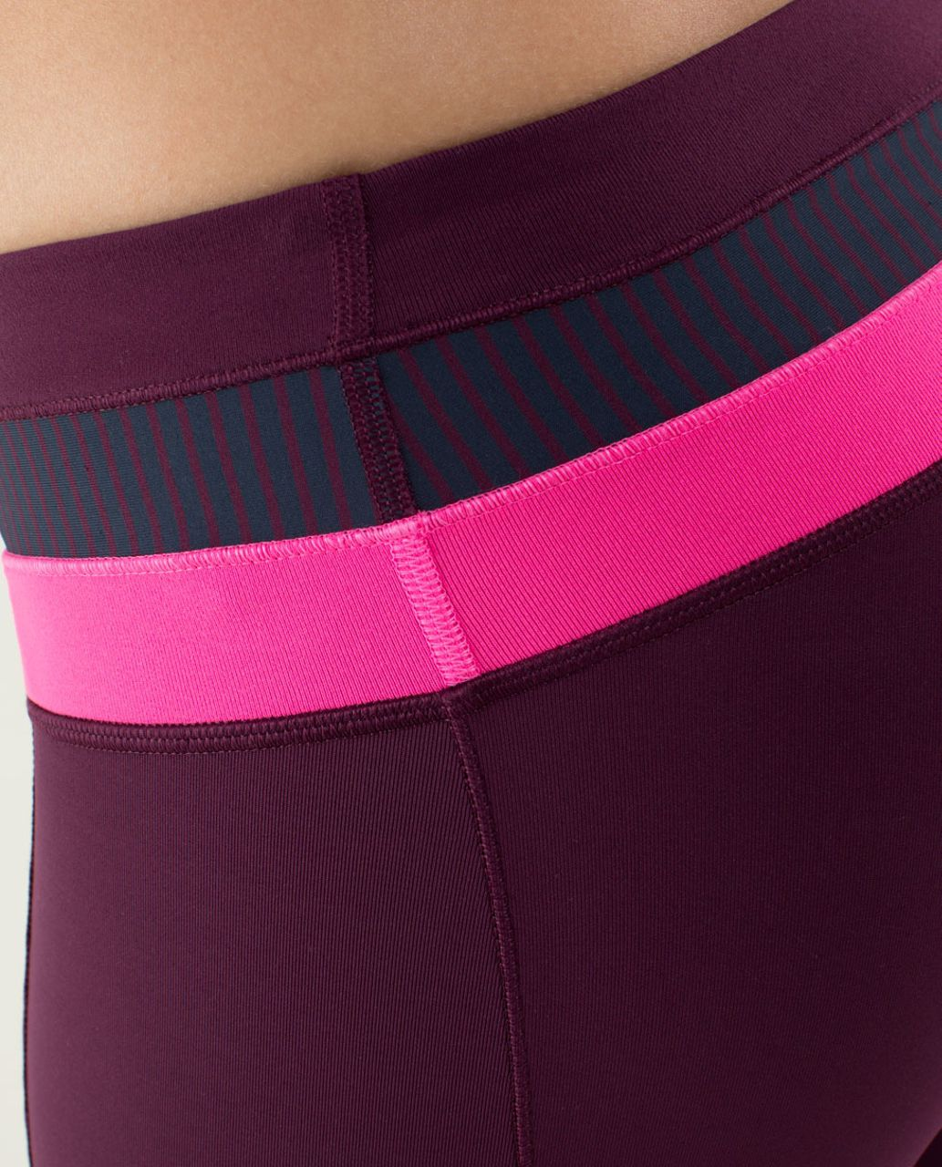 59a40ec60 Lululemon Give Me Qi Pant - Plum   Hyper Stripe Raspberry Glo Light    Raspberry Glo