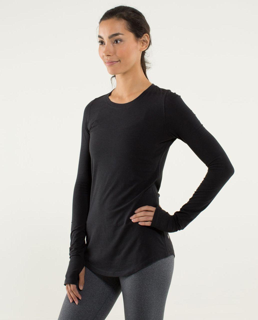 Lululemon Karma Long Sleeve - Black