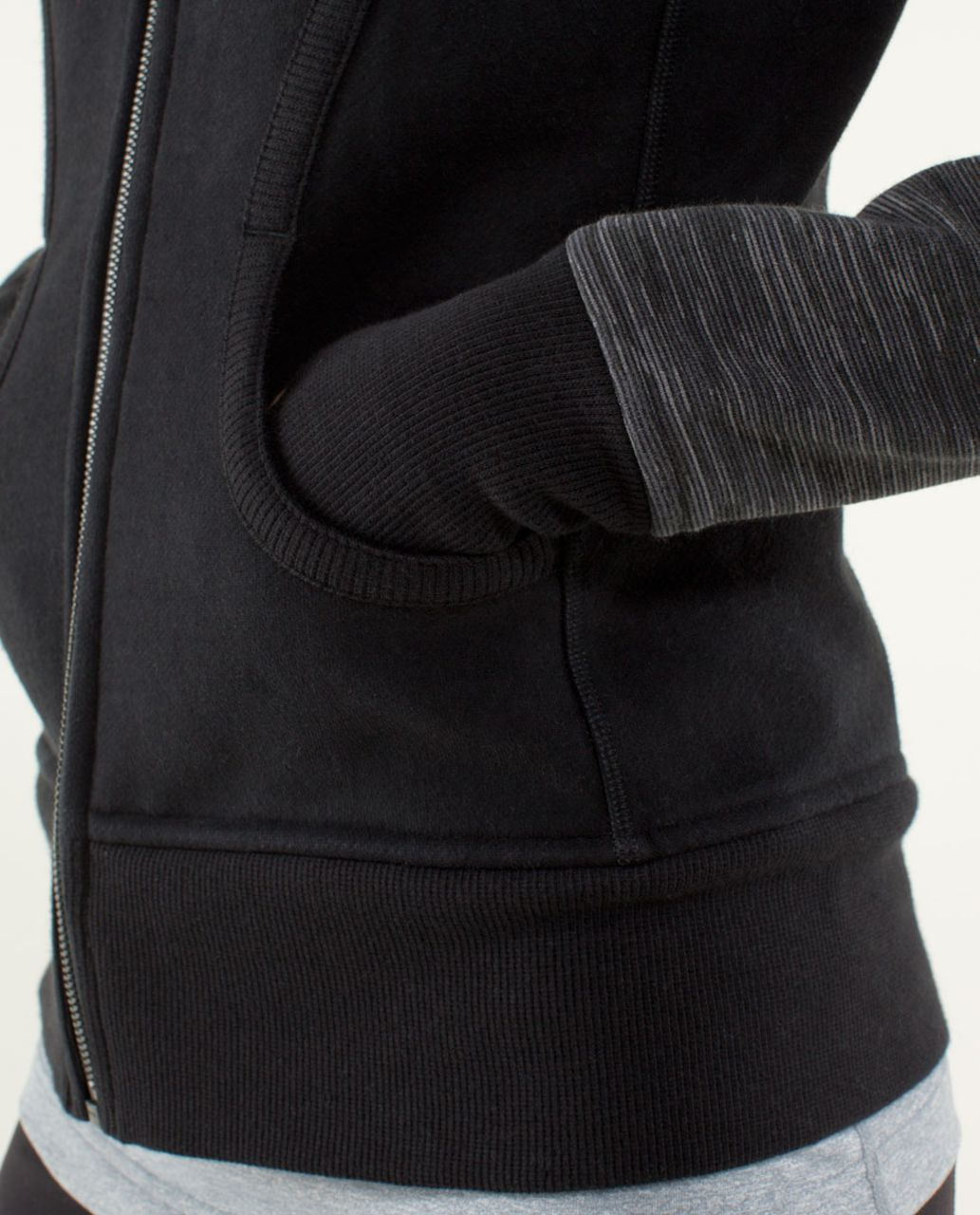 Lululemon Scuba Hoodie *Stretch (Lined Hood) - Black / Wee Are From Space Printed September Black