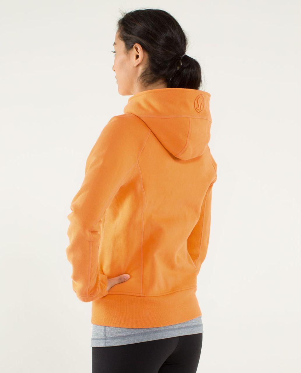 Lululemon Scuba Hoodie *Stretch (Lined Hood) - Orange Soda