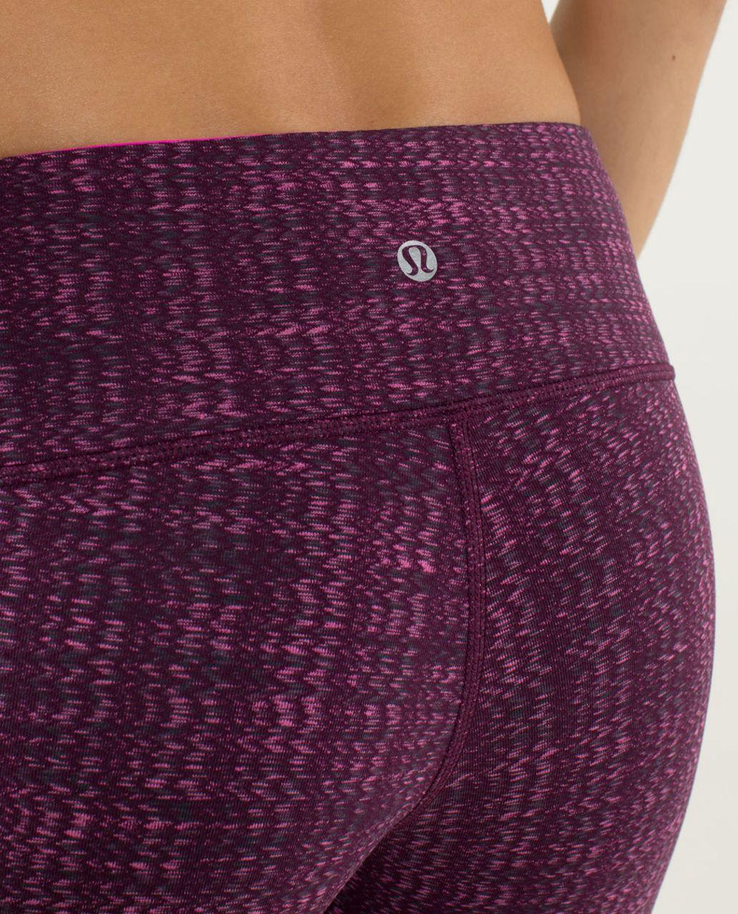 Lululemon Wunder Under Pant *Textured - Ziggy Wee August Glo / Raspberry Glo Light