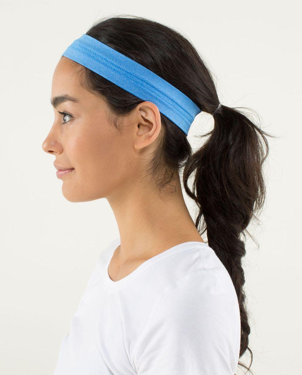 Lululemon Swiftly Headband - Heathered Cornflower