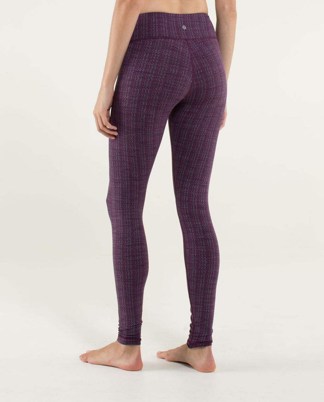 Lululemon Wunder Under Pant *Textured - Ziggy Wee September Plum