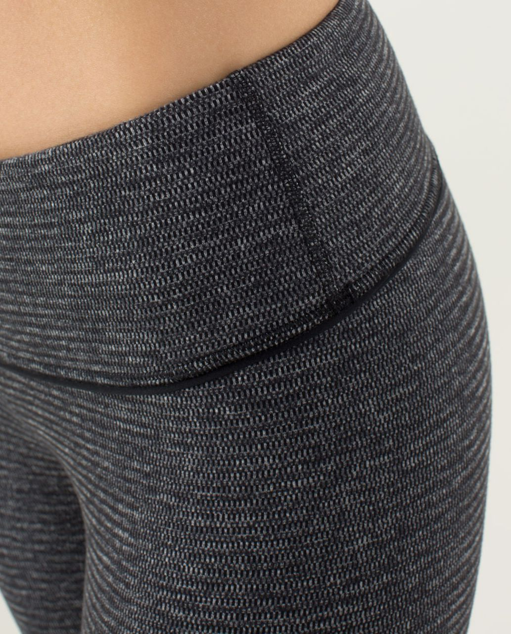 Lululemon Wunder Under Pant *Textured - Black / Deep Coal