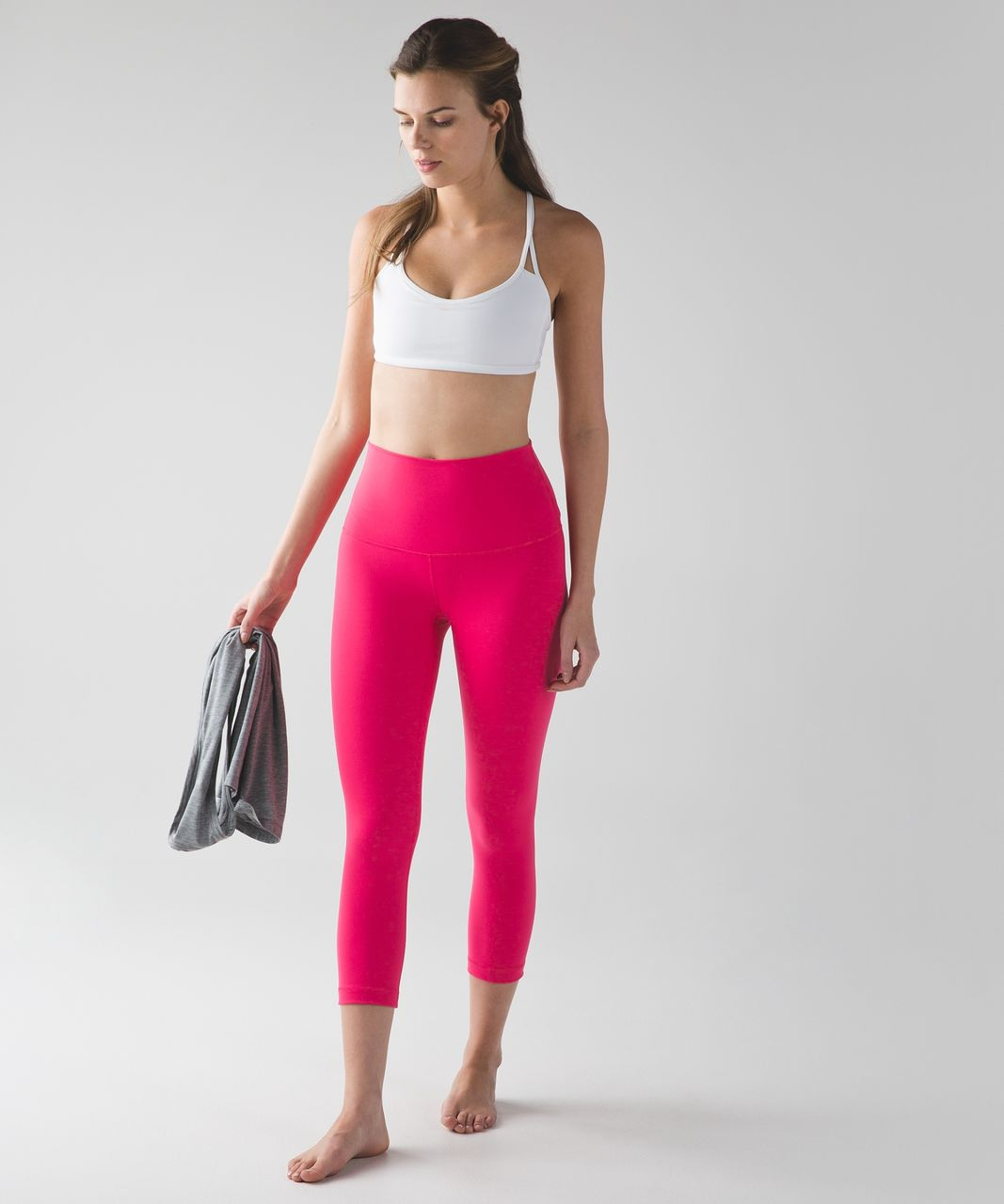 Lululemon Wunder Under Crop (Hi-Rise) - Boom Juice