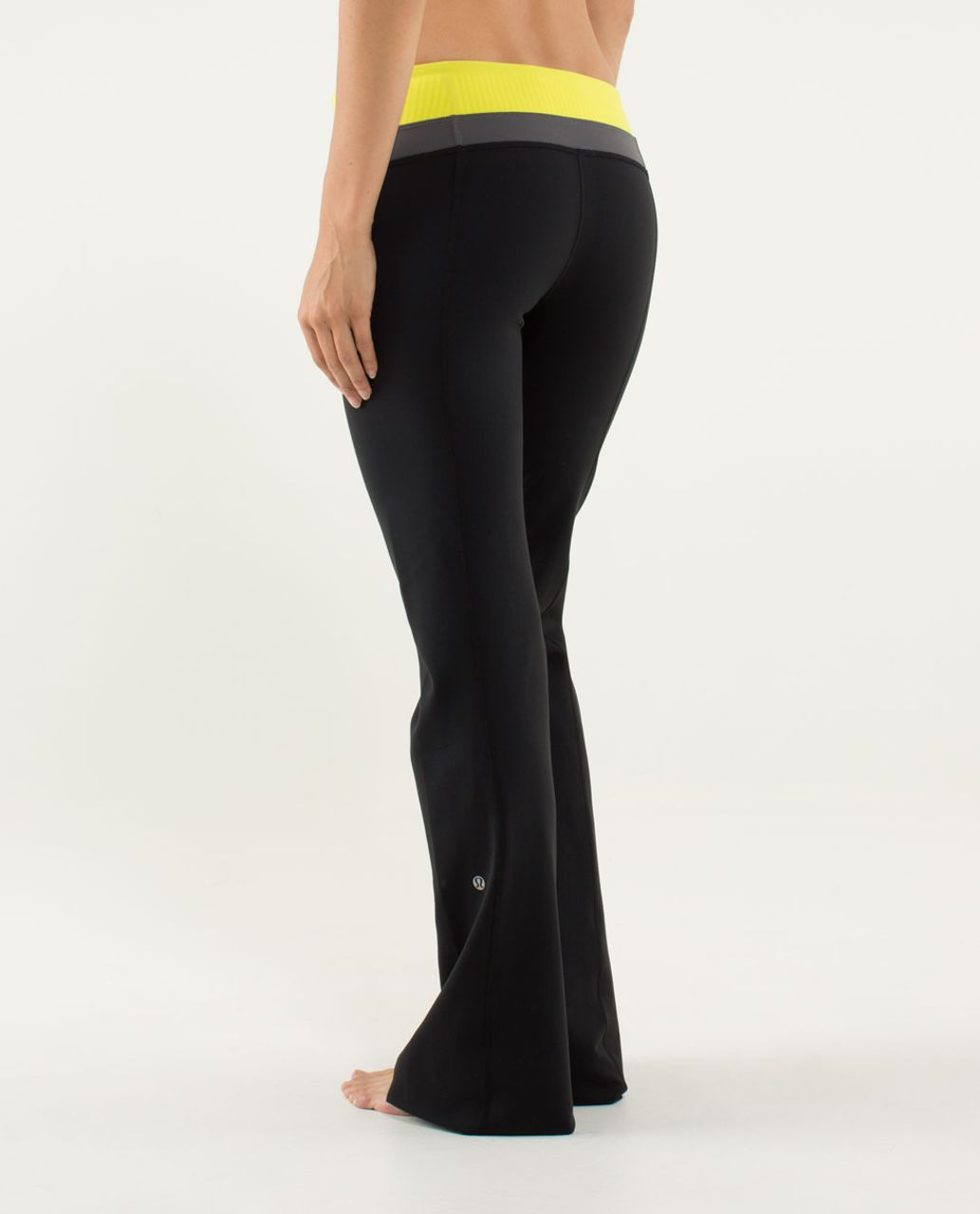 Lululemon Groove Pant (Regular) - Black / Quilt 07 Fall 2013