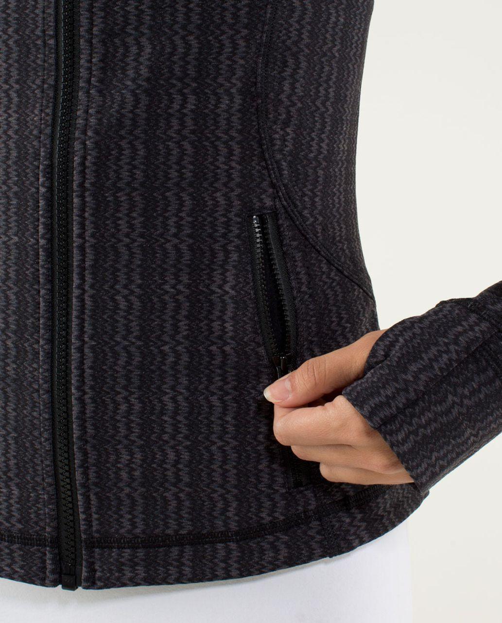 Lululemon Forme Jacket *Cuffins - Ziggy Wee September Black