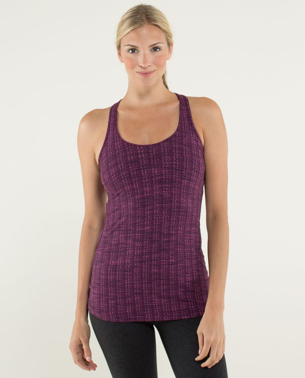 Lululemon Cool Racerback - Ziggy Wee August Glo