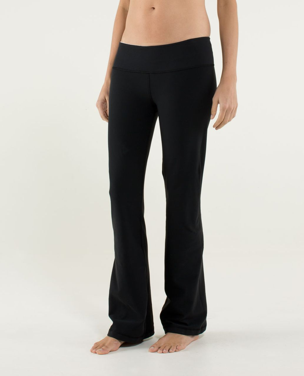 Lululemon Groove Pant (Regular) - Black / Angel Wing / Cornflower