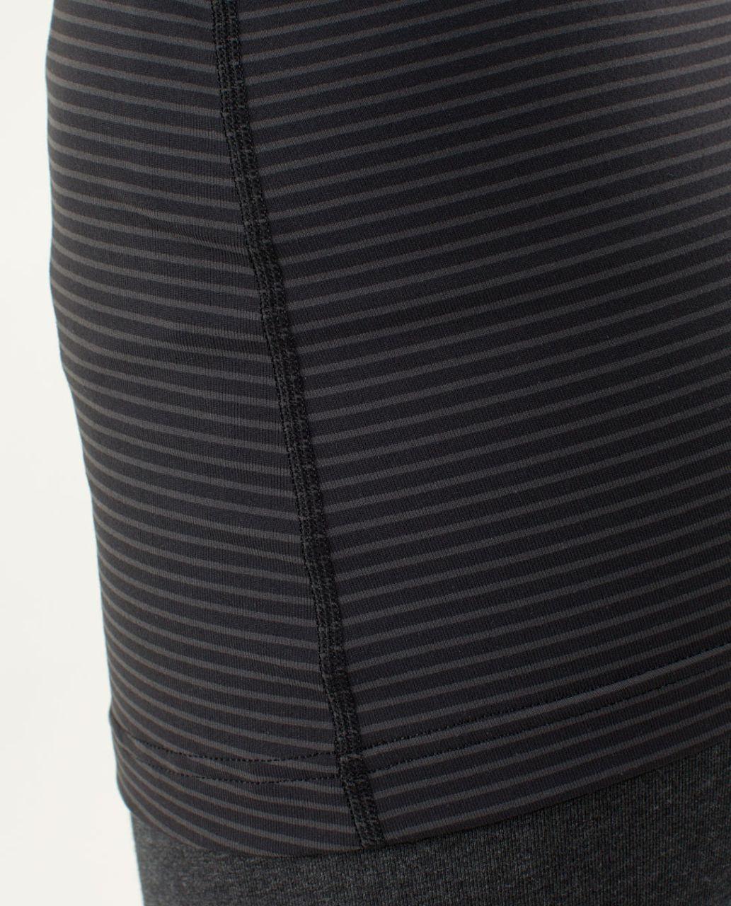 Lululemon Cool Racerback - Hyper Stripe Black