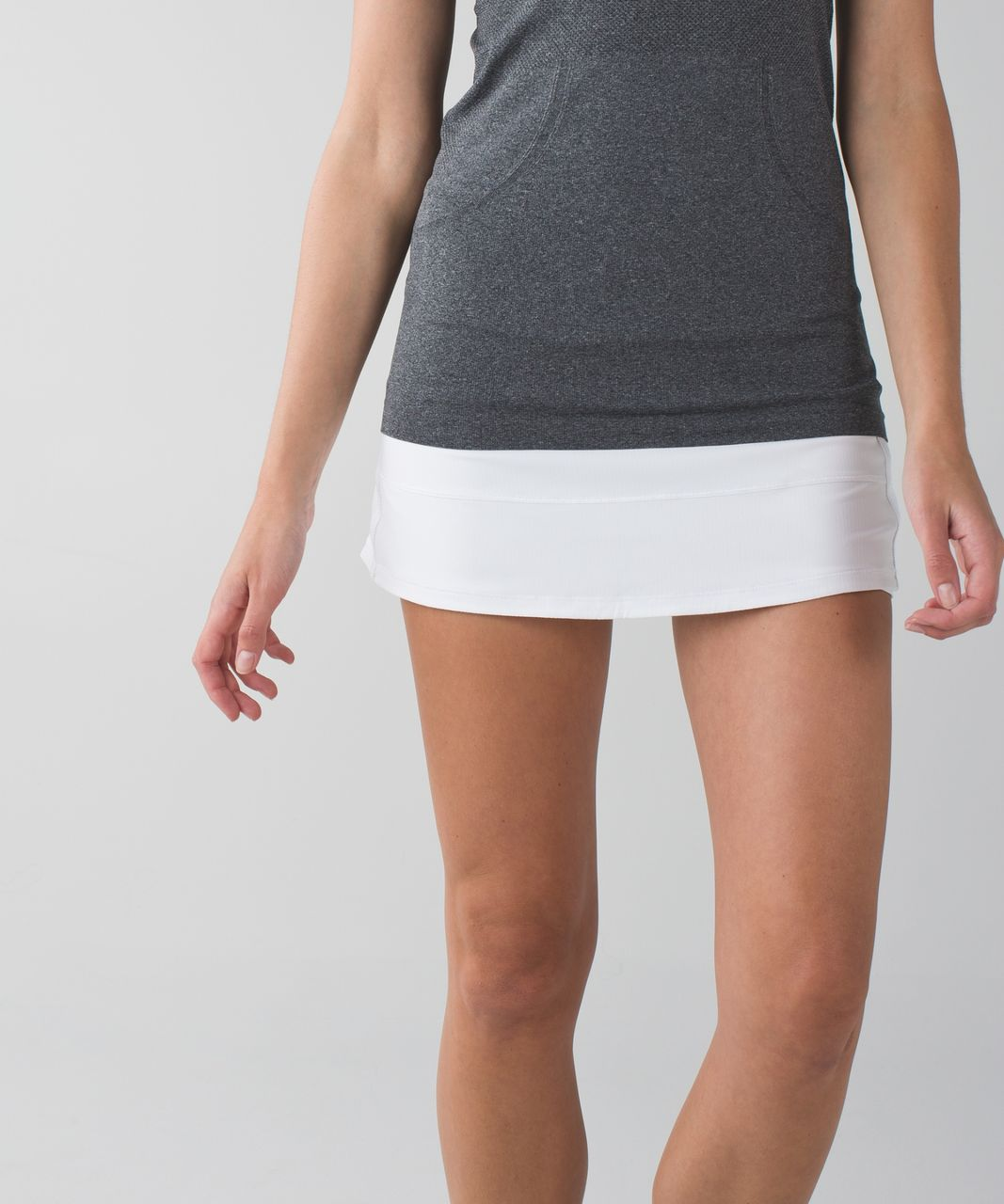 Lululemon Pace Rival Skirt II (Regular) *4-way Stretch - White