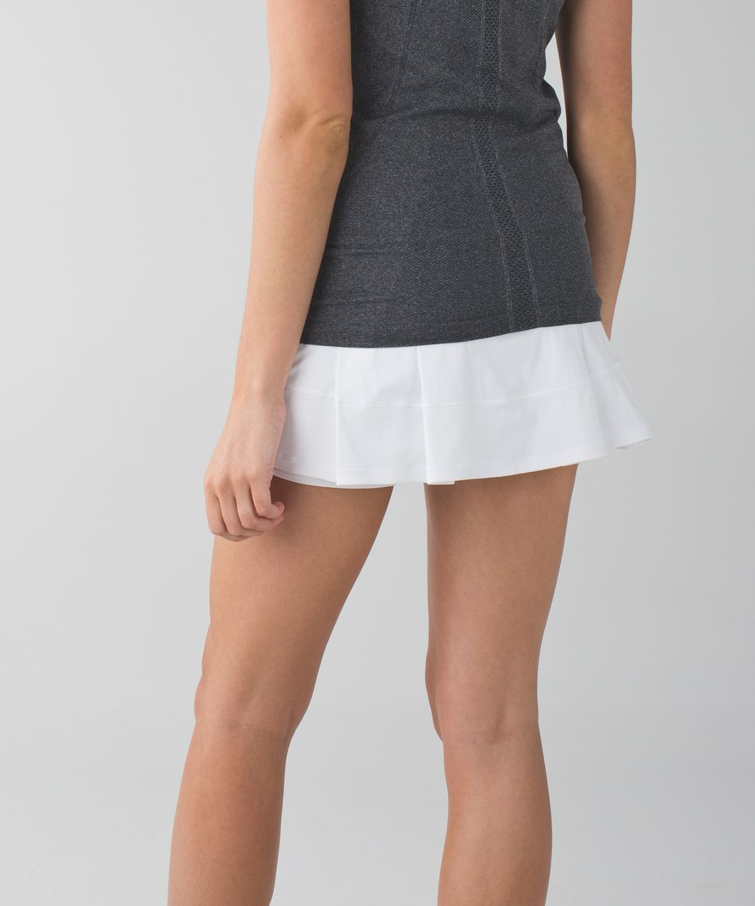 Lululemon Pace Rival Skirt II (Regular) *4-way Stretch - White