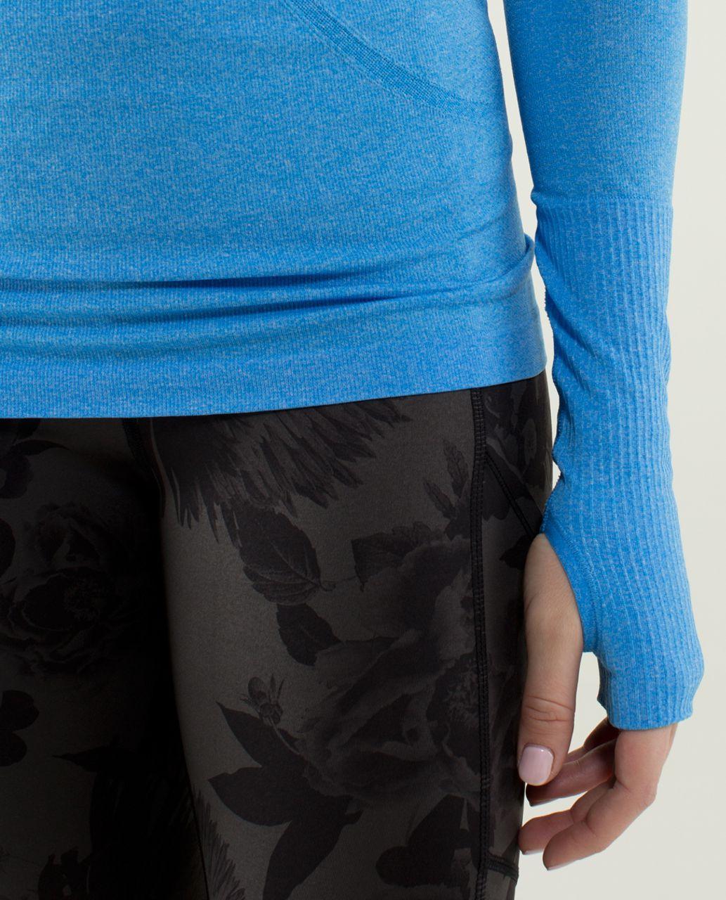 Lululemon Run:  Swiftly Tech Long Sleeve - Heathered Cornflower