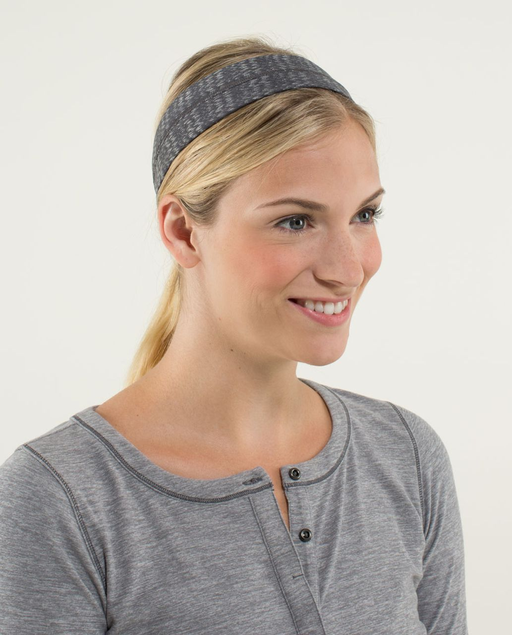 Lululemon Fly Away Tamer Headband - Ziggy Wee October Angel Wing