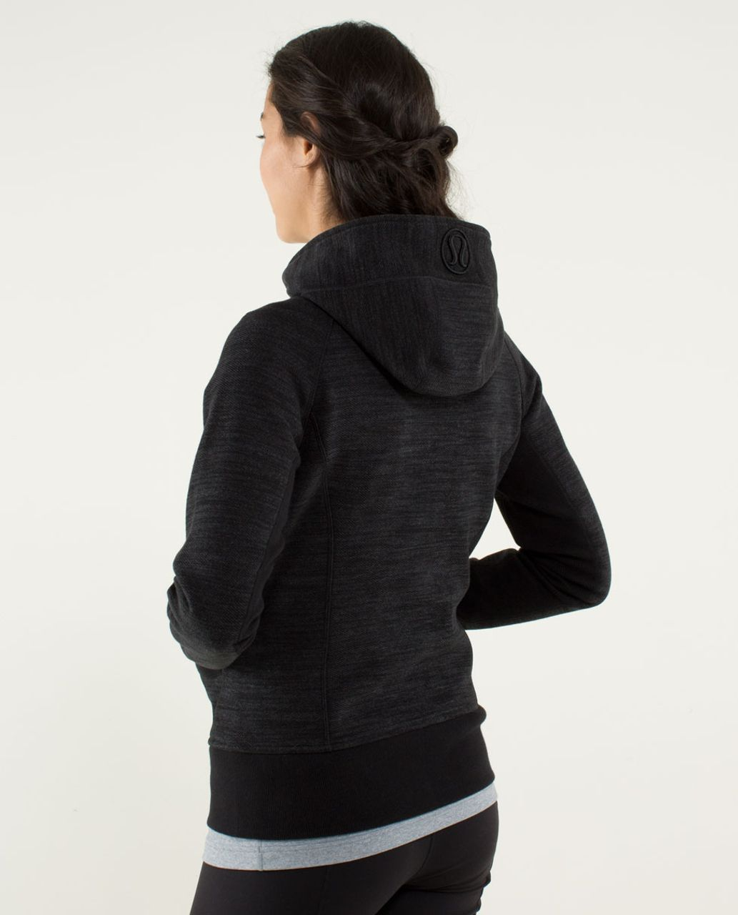 Lululemon Scuba Hoodie *Stretch (Lined Hood) - Commuter Denim Black / Black
