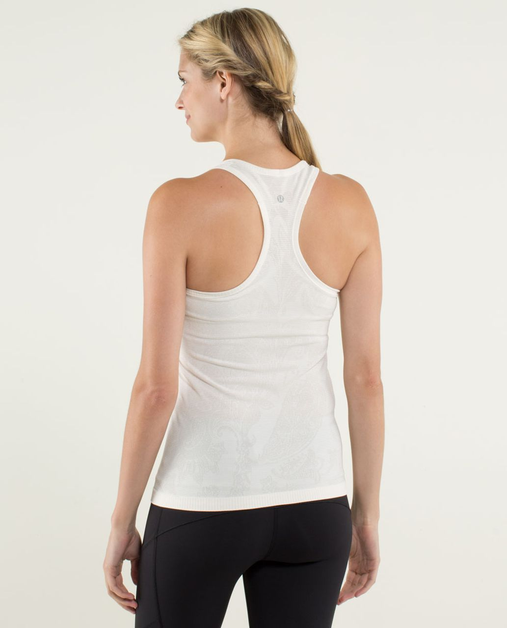 Lululemon Run:  Swiftly Tech Racerback *Paisley - Heathered Angel Wing