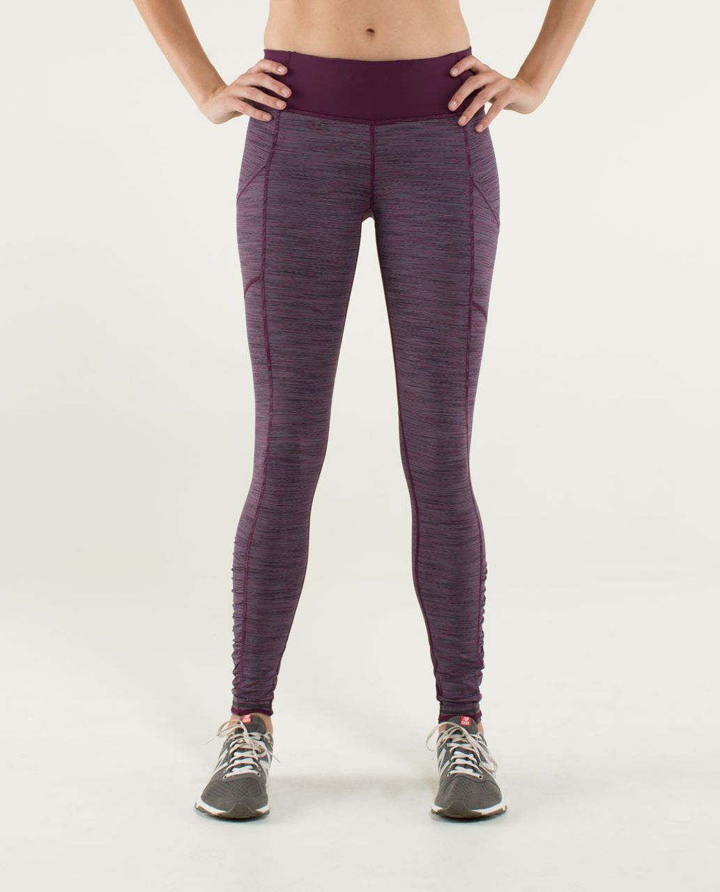 Lululemon Speed Tight *Luxtreme - Wee Are From Space September Plum / Plum