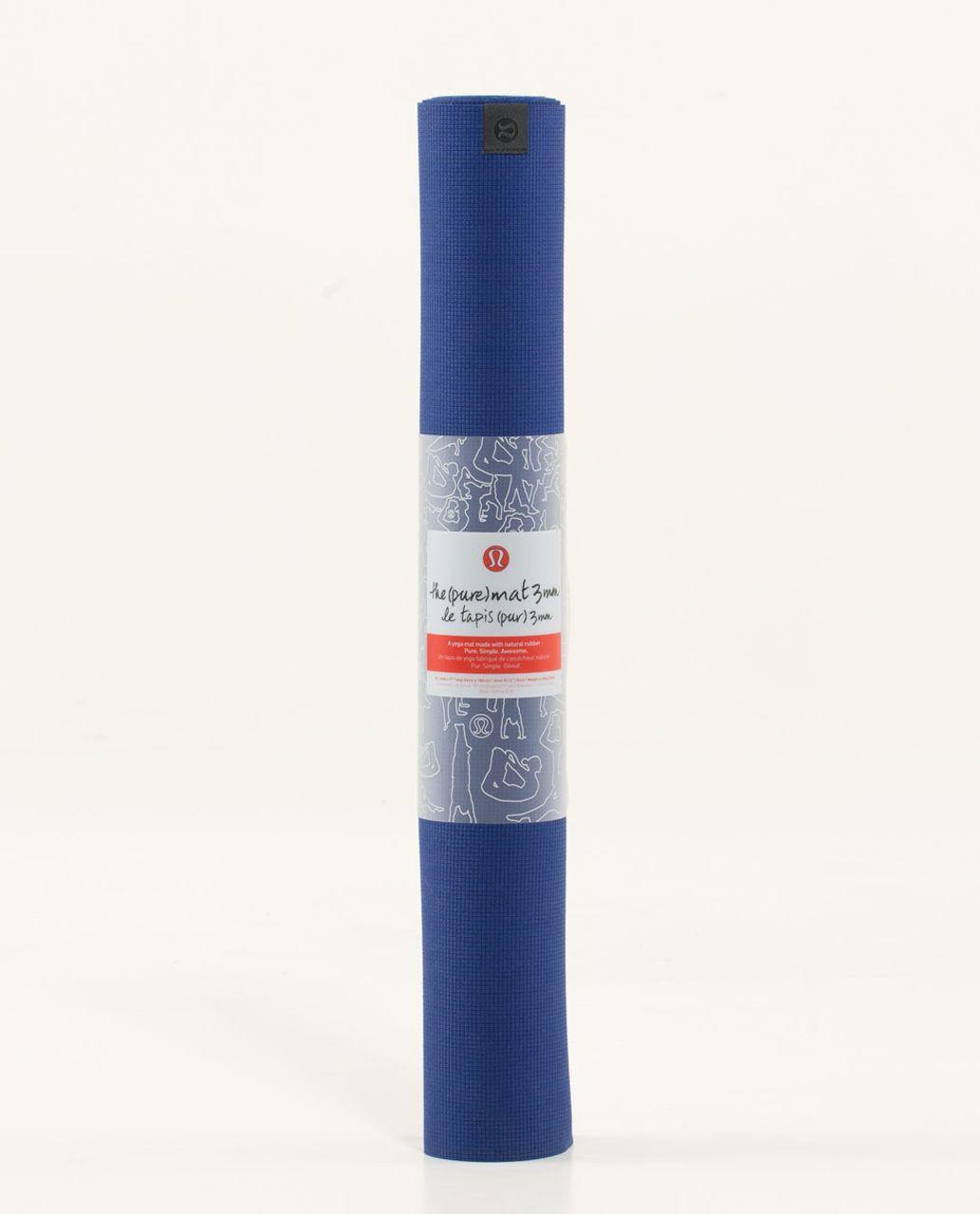 Lululemon The Pure Mat 3mm - Pigment Blue
