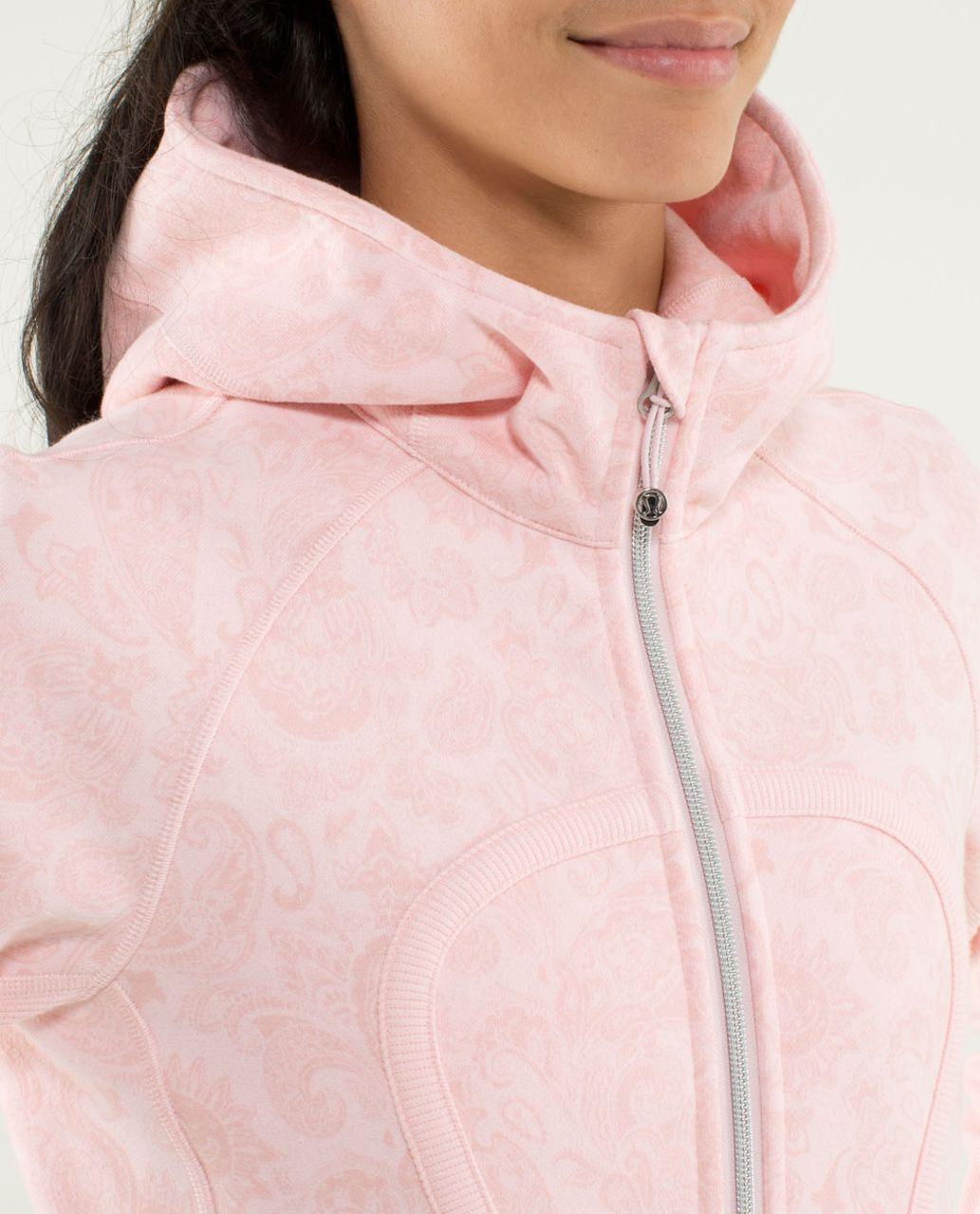Lululemon Scuba Hoodie *Stretch (Lined Hood) - Paisley Pretty Pink