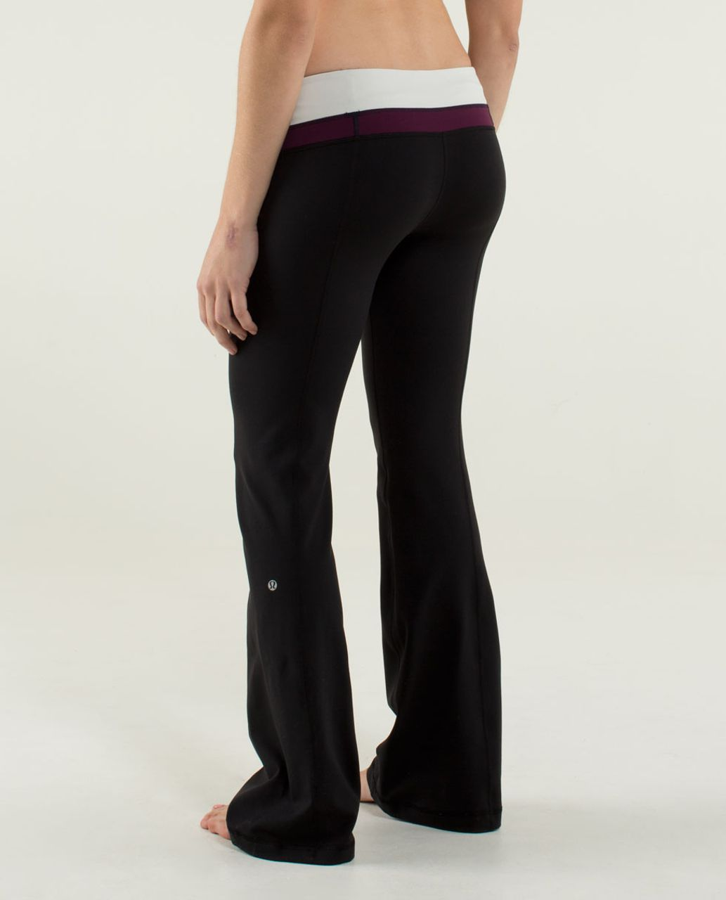 Lululemon Groove Pant (Regular) - Black / Quilt 08 Fall 2013