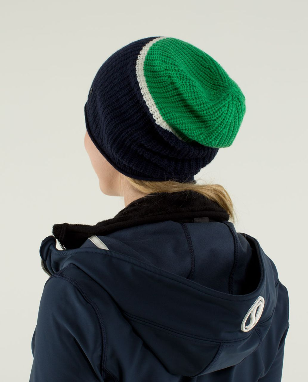 Lululemon Falling Freely Toque - Green Bean / Angel Wing / Inkwell