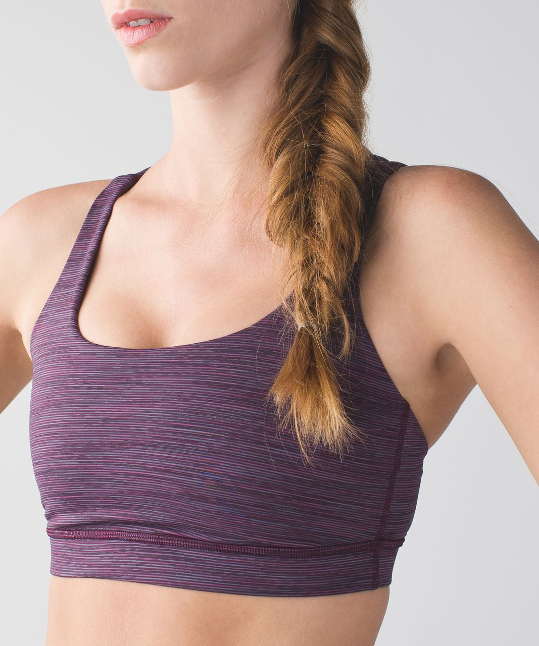 Lululemon Energy Bra - Wee Are From Space September Plum