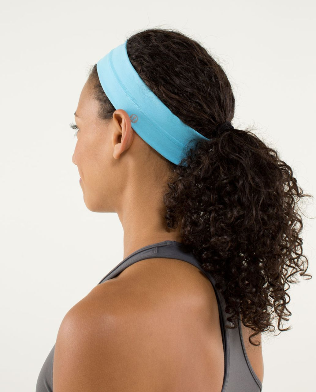Lululemon Fly Away Tamer Headband - Blue Moon