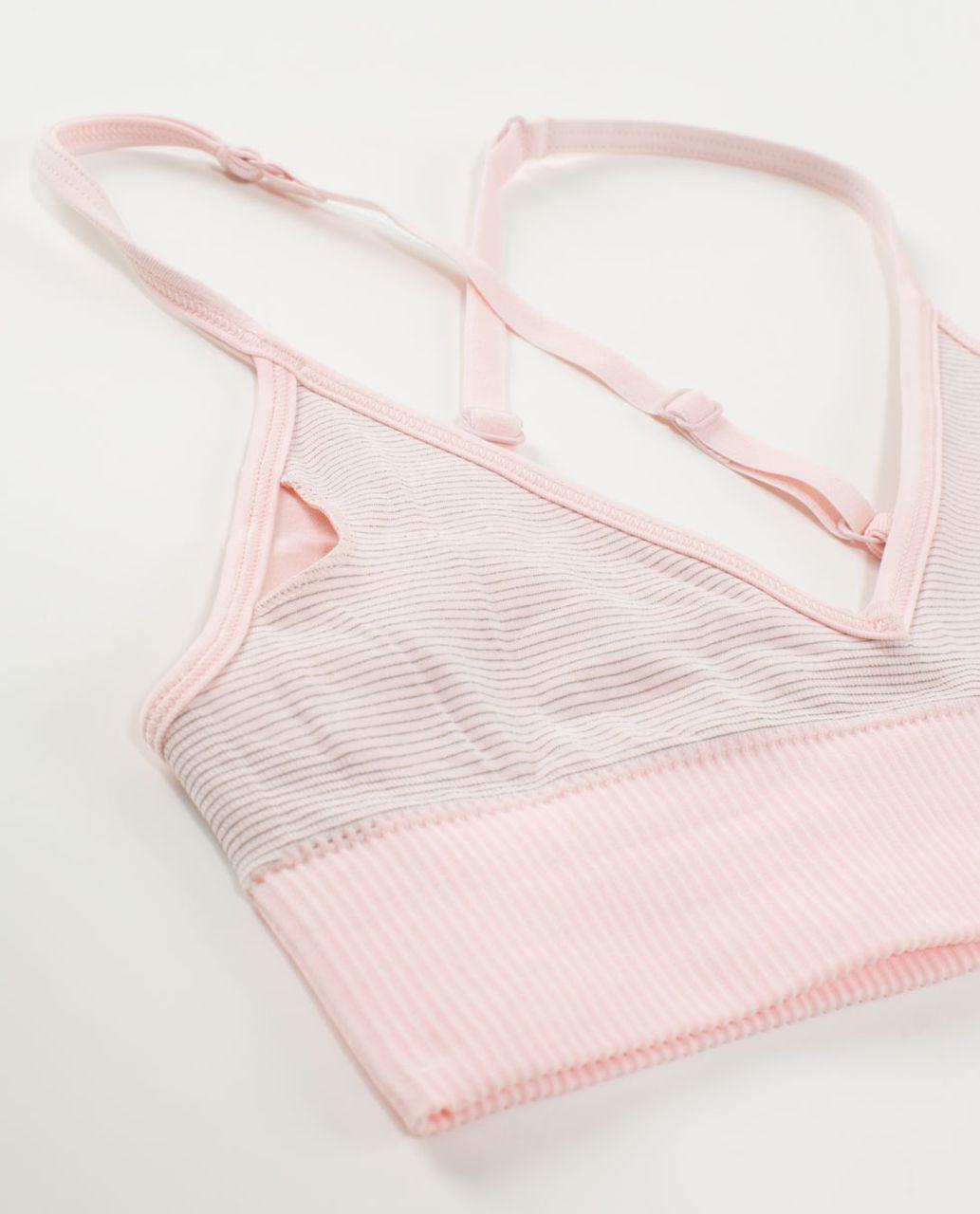 Lululemon Ebb To Street Bra - Heathered Pretty Pink