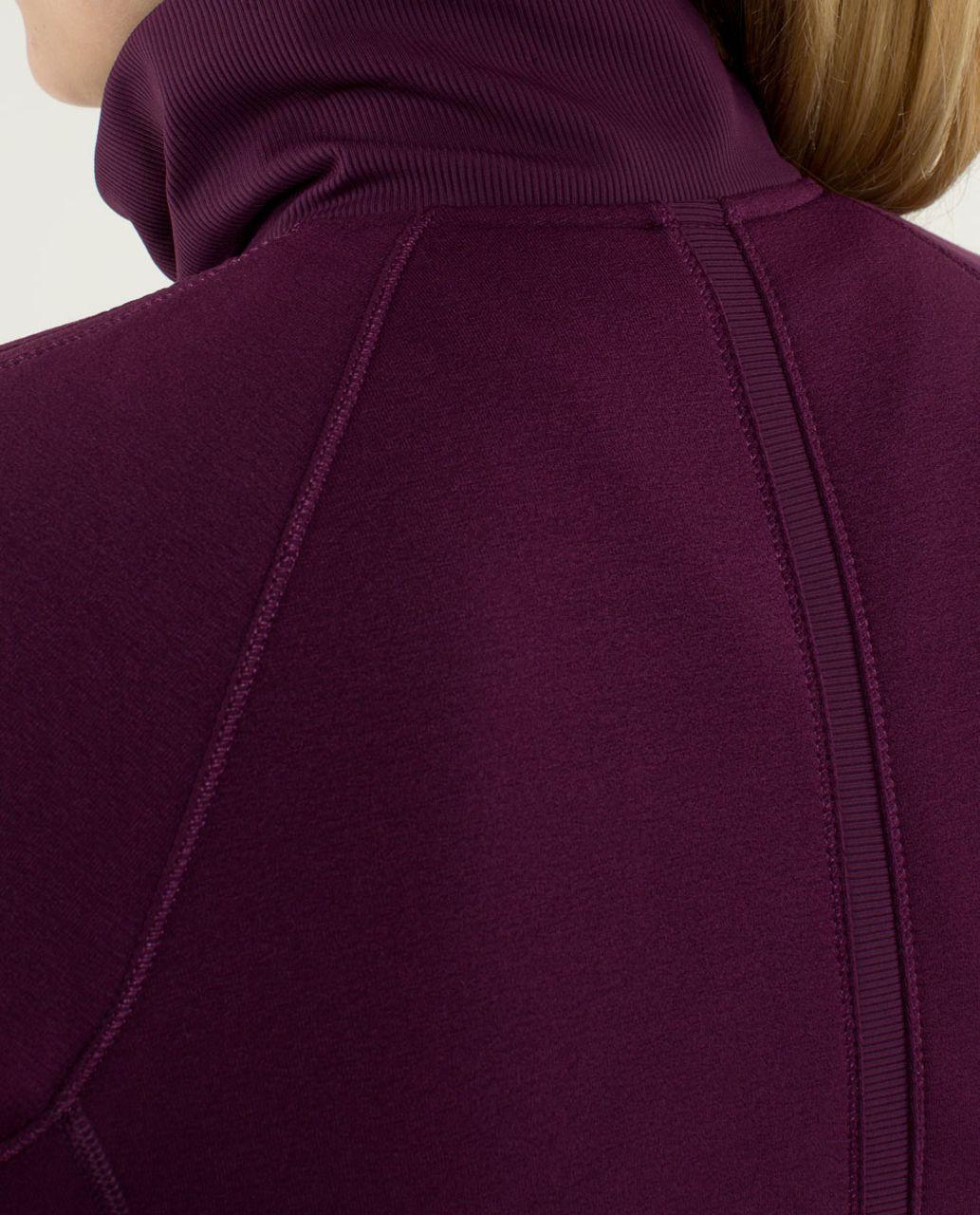 Lululemon Keep It Cozy Jacket - Plum