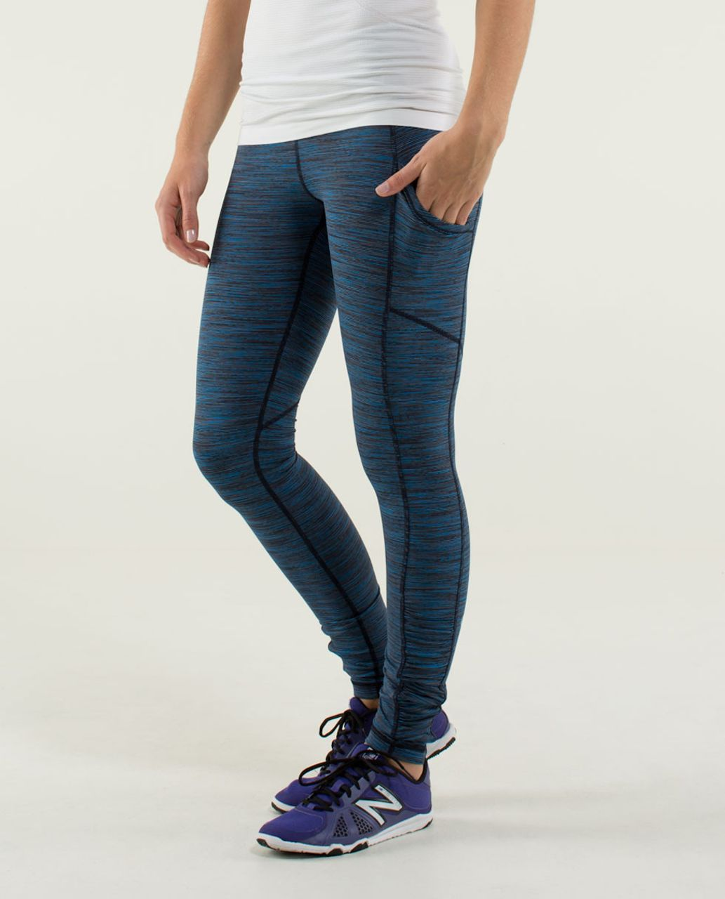 Lululemon Speed Tight *Luxtreme - Wee Are From Space October Inkwell / Inkwell