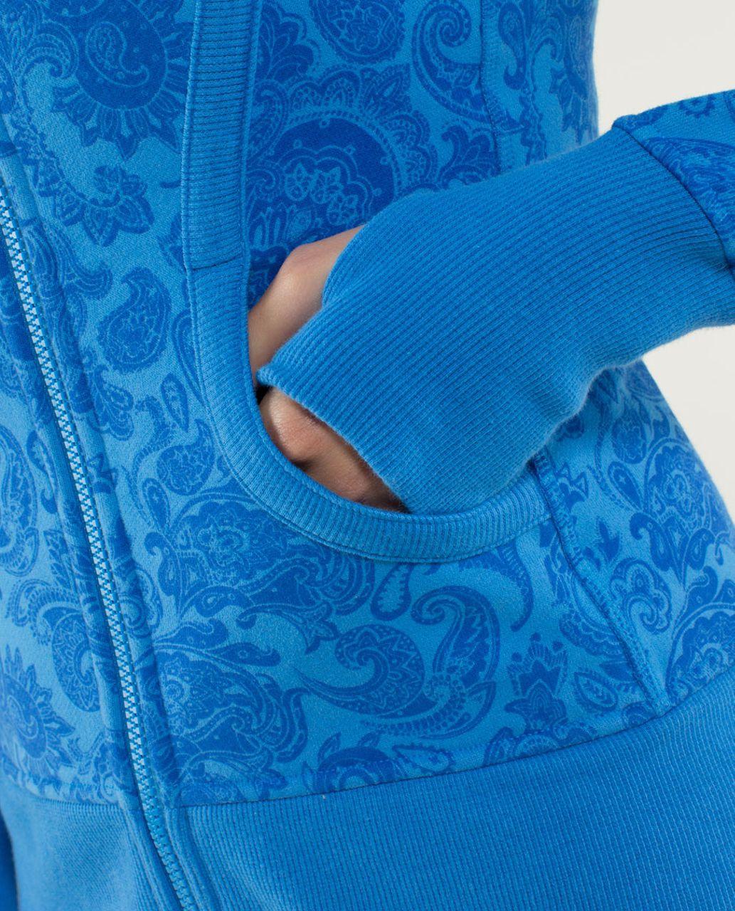 Lululemon Scuba Hoodie *Stretch (Lined Hood) - Paisley Cornflower / Cornflower