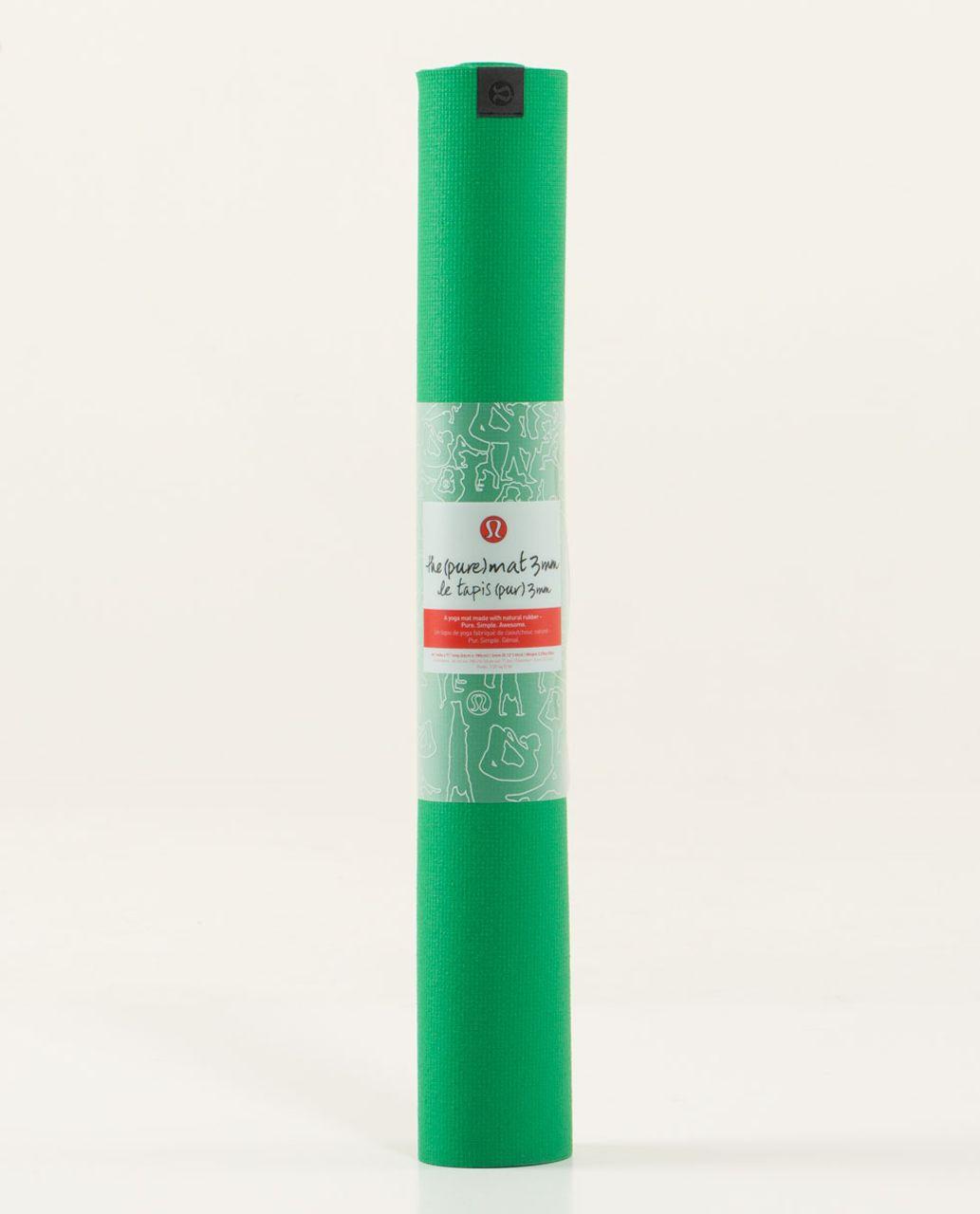 Lululemon The Pure Mat 3mm - Green Bean